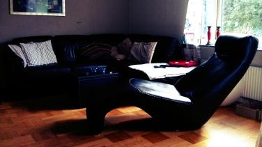 soffan fått ny plats